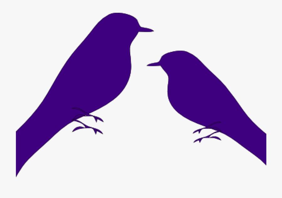 Love Birds Clipart Love Birds Clip Art At Clker Vector - Png Black And White Love Bird, Transparent Clipart