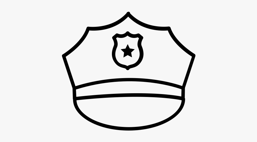 """Police Hat Rubber Stamp""""  Class=""""lazyload Lazyload - Police Hat Coloring Page, Transparent Clipart"""