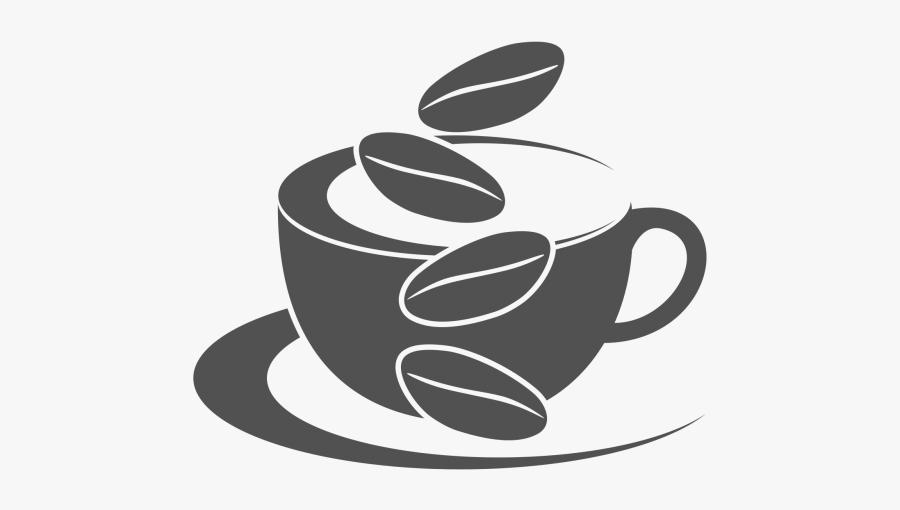 Png Freeuse Download Cafe Vector Design Element - Coffee Shop Logo Design Png, Transparent Clipart