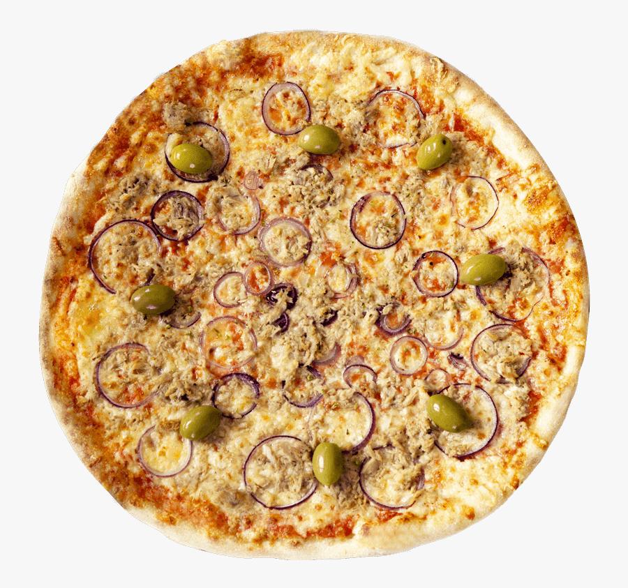 Cheese,california-style Food,produce,tarte Flamb�e,junk - Пицца Туна, Transparent Clipart