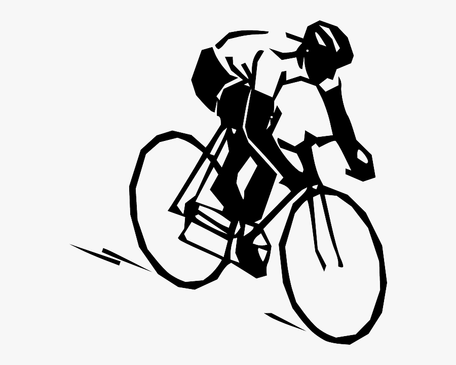 Bicycle Clipart Easy Bike - Clipart Cycling, Transparent Clipart