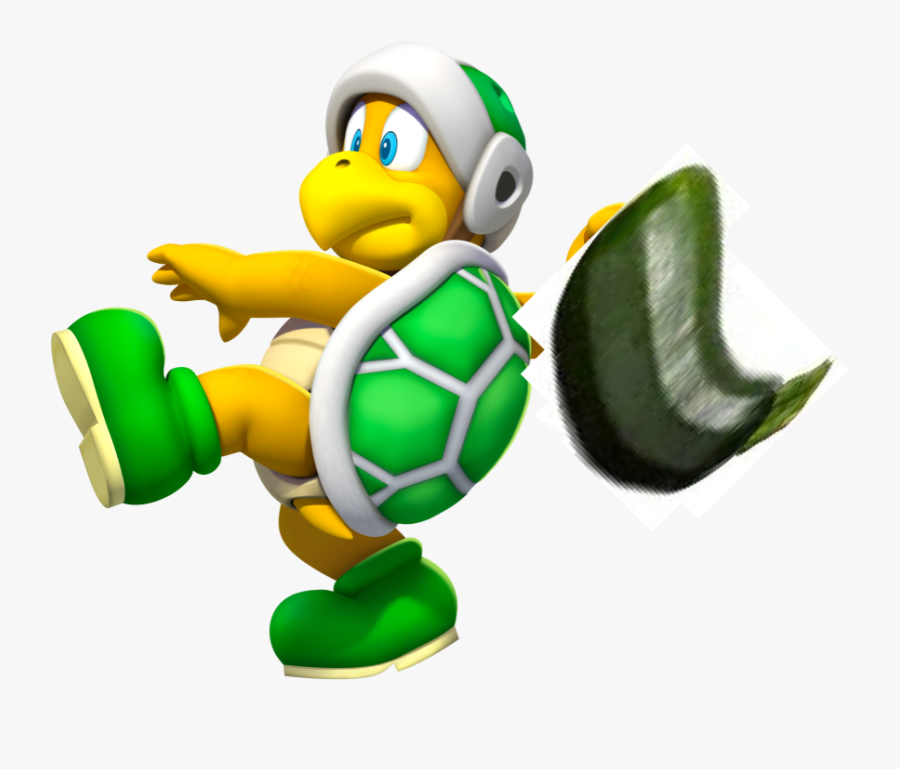 Transparent Zucchini Clipart - Super Mario Hammer Bro, Transparent Clipart