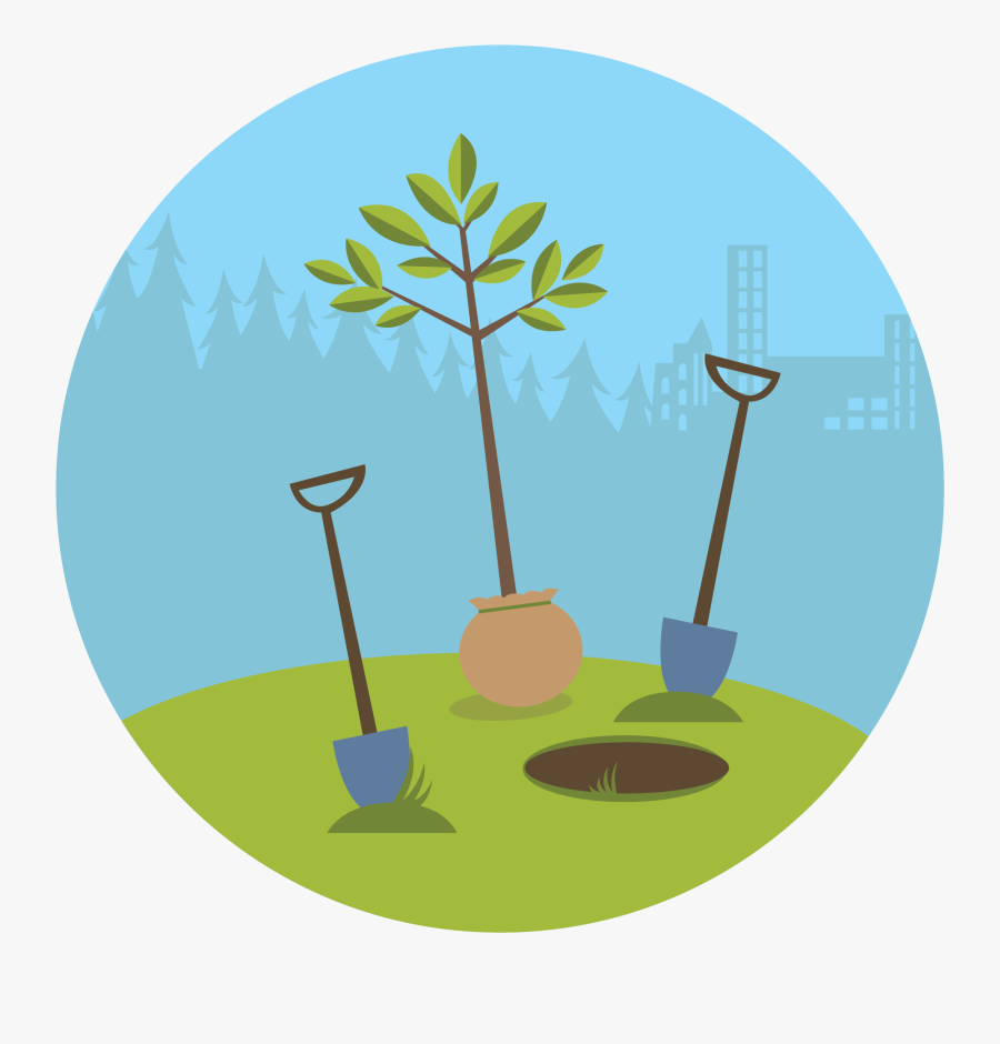 Tree Clipart Clipart Trгє - Plant A Tree Art, Transparent Clipart