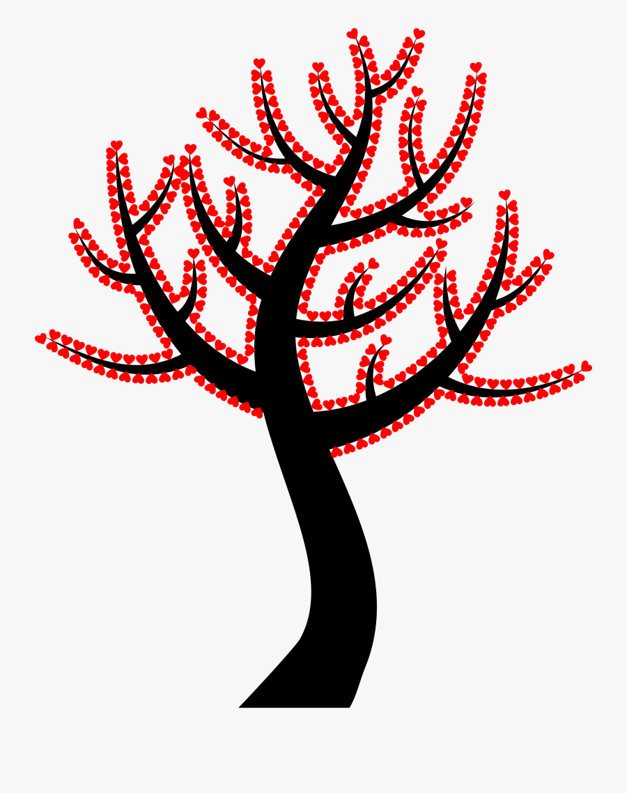 Plant,flower,leaf - Colorful Tree With Branches With Transparent Background, Transparent Clipart