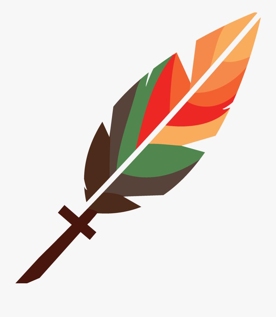 Cross Feather Logo Clipart , Png Download - قلم بدست گرفتم که حرف حق بنویسم, Transparent Clipart