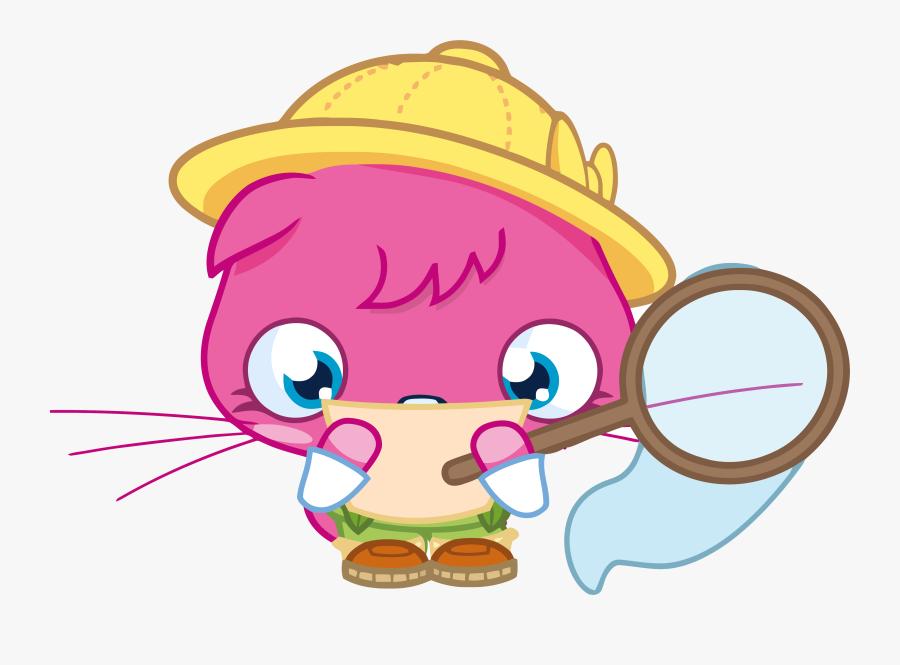 Explorer Poppet Reading Moshi Monster Clipart Png - Moshi Monsters Poppet Png, Transparent Clipart