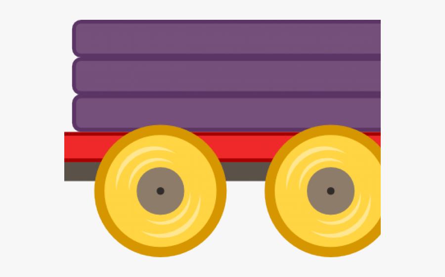 Tires Clipart Train - Circle, Transparent Clipart