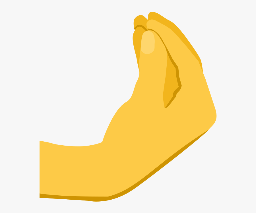Emoji Fire Png -hand Emoji Clipart Fire Emoji - Italian Hand Gesture Png, Transparent Clipart