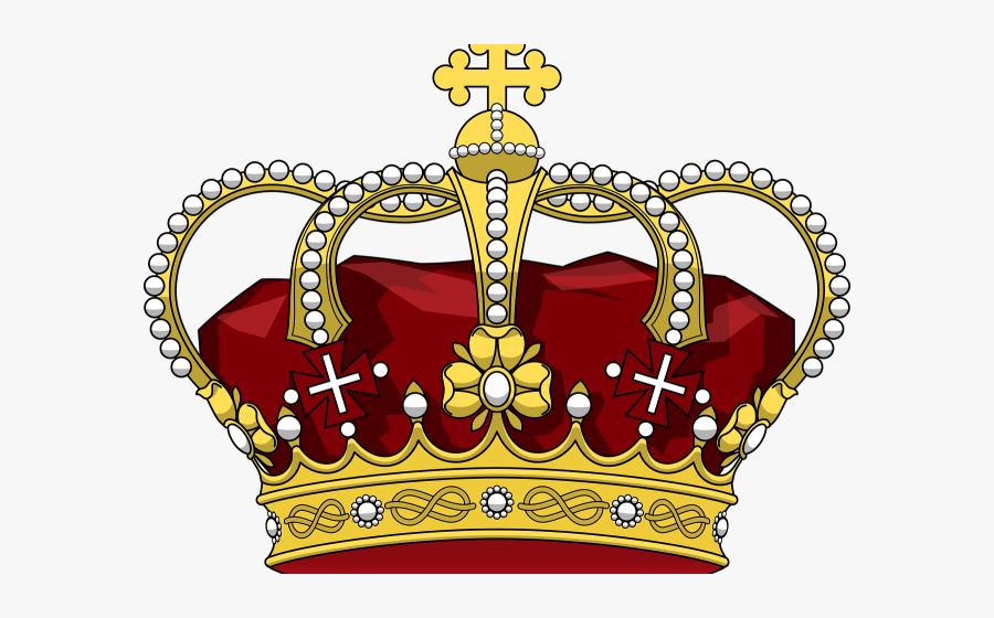 Transparent Jewels Clipart - Corona De Rey Png, Transparent Clipart