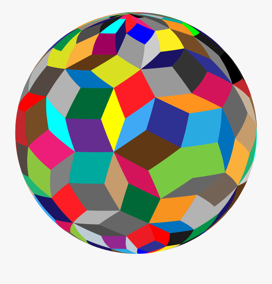 Ball,symmetry,sphere - Sphere Colorful, Transparent Clipart