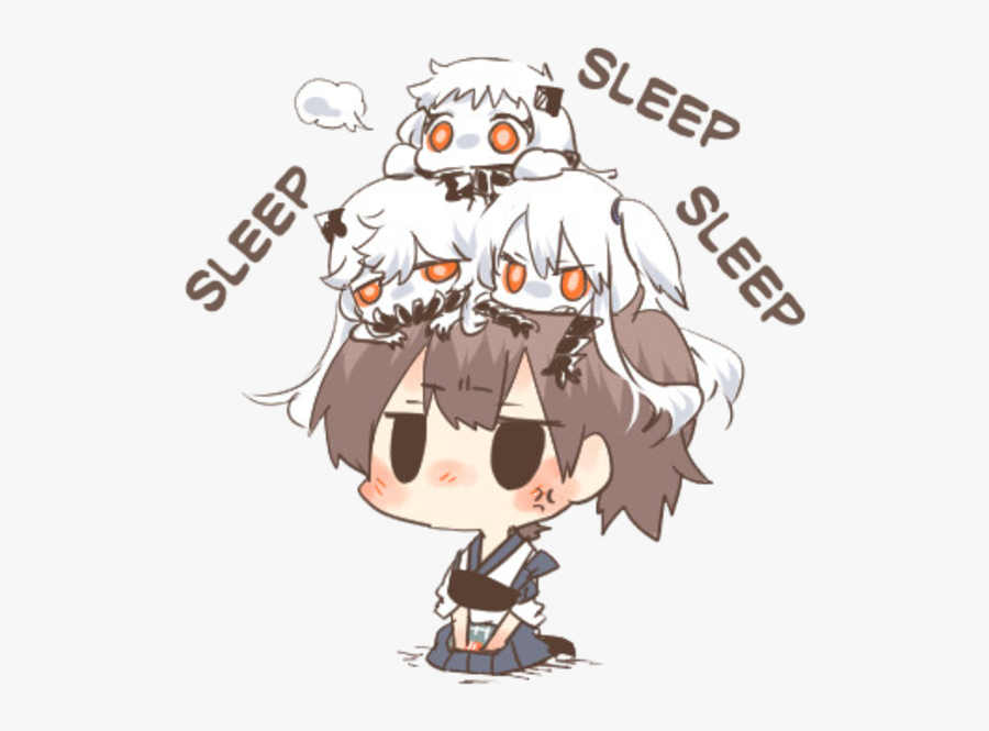 Sleep Sleep Sleep - Kantai Sleep, Transparent Clipart