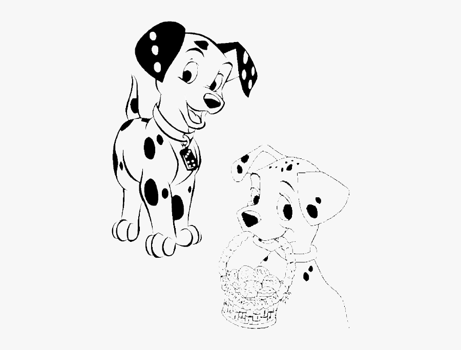 101 Dalmatians #214 (Animation Movies) – Printable coloring pages | 683x900