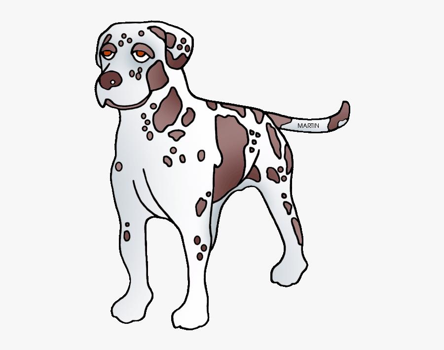 Louisiana State Dog - Catahoula Leopard Dog Clip Art, Transparent Clipart