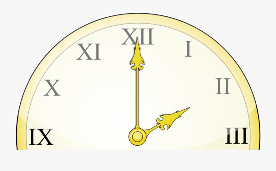 Transparent Daylight Savings Png - Teach Roman Numerals Clock, Transparent Clipart