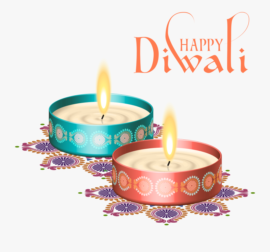 2017 Clipart Diwali - Happy Diwali Png Text, Transparent Clipart