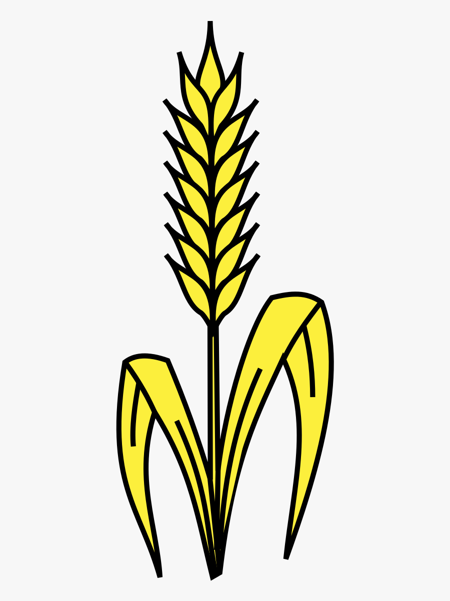 Svg Black And White Library Corn Stalk Bundle Clipart - Wheat Stalk Clipart, Transparent Clipart