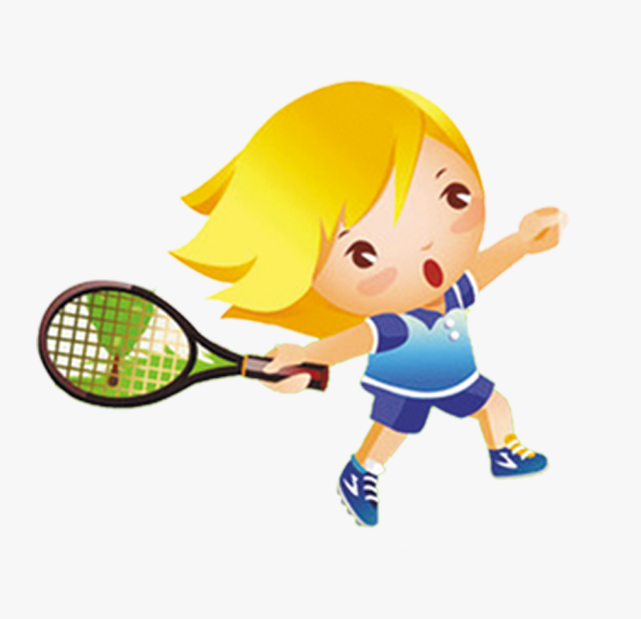 Badminton Player Clipart Stock Illustration Badminton - Playing Tennis Clip Art, Transparent Clipart