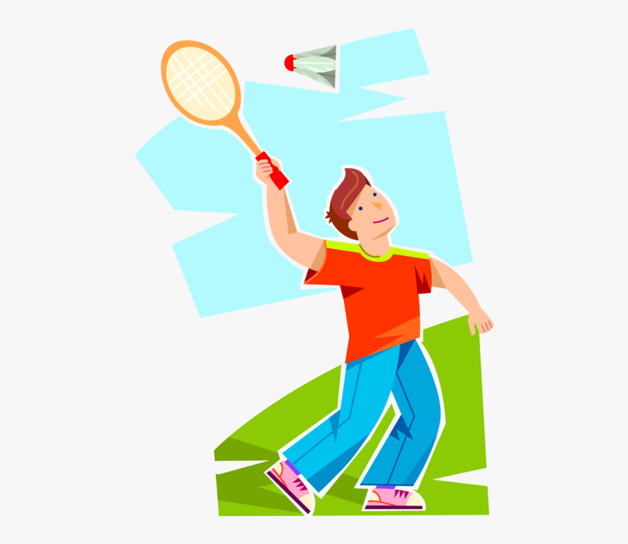 Transparent Badminton Clipart - Play Badminton Clipart Transparent, Transparent Clipart