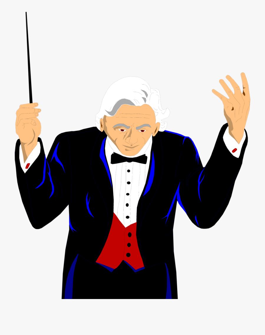 Conductor - Orchestra Conductor Transparent, Transparent Clipart