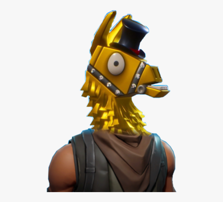 Toy Figure Royale Fortnite Llama Battle Action Fortnite Gold Llama Png Free Transparent Clipart Clipartkey