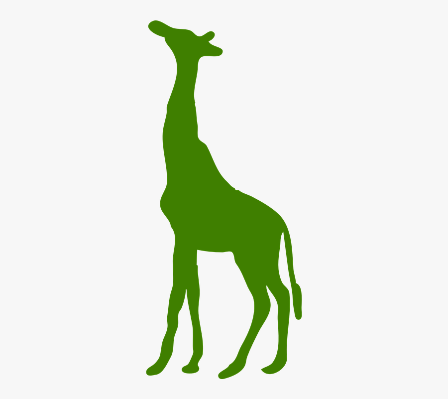 Resource Centre - - Giraffe Silhouette Clipart, Transparent Clipart