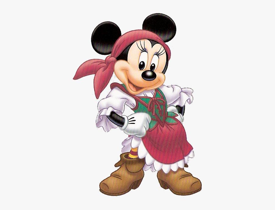 Minnie Mouse Pirate Clipart, Transparent Clipart