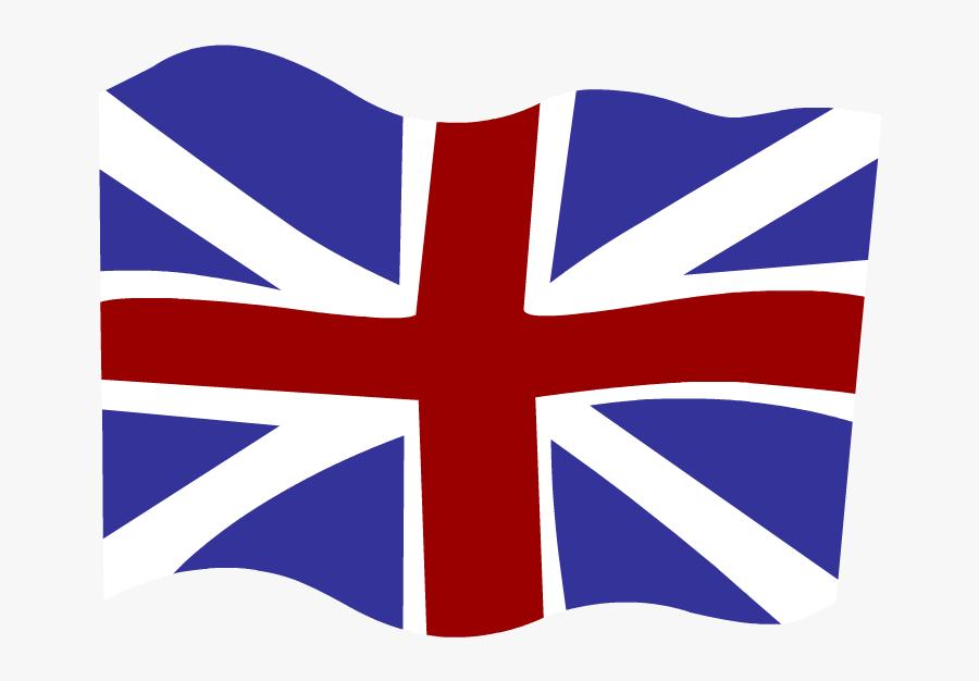 Small Union Jack Flags, Transparent Clipart