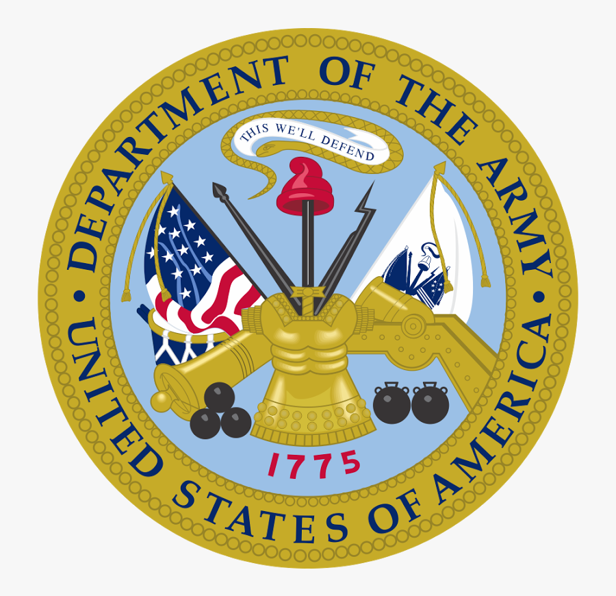 Department Of The Army United States Of America, Transparent Clipart