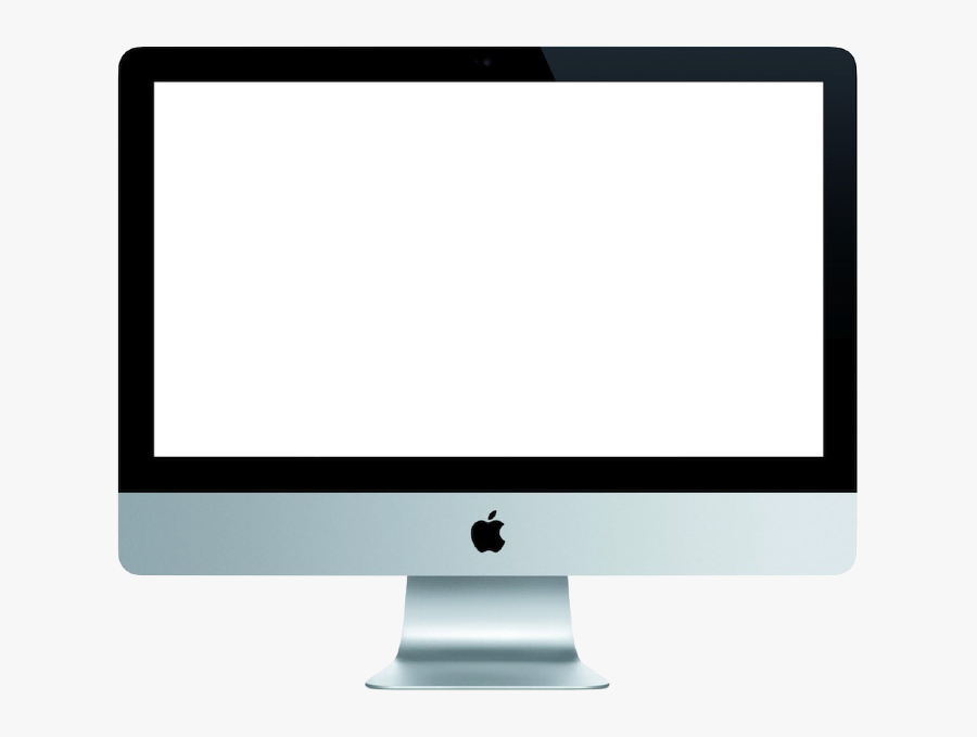 Blank Computer Screen Png - Blank Apple Computer Screen, Transparent Clipart