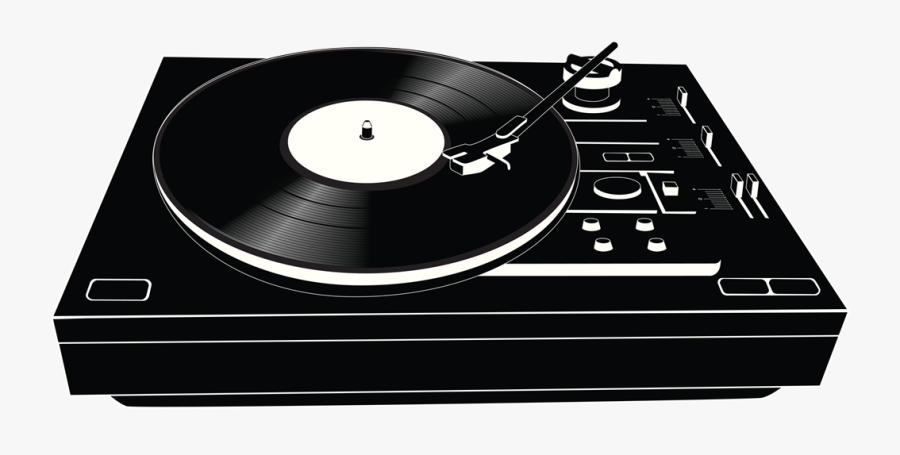 Svg Freeuse Download Retro Record Player Clipart - Png Vinyl Record Player, Transparent Clipart