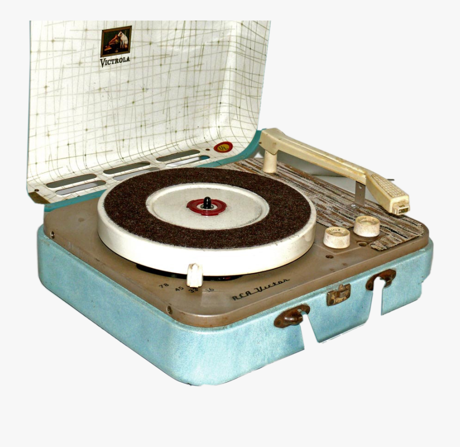Art Vintage Aesthetic Record Recordplayer 60s 50s 40s - 60s Record Player Png, Transparent Clipart