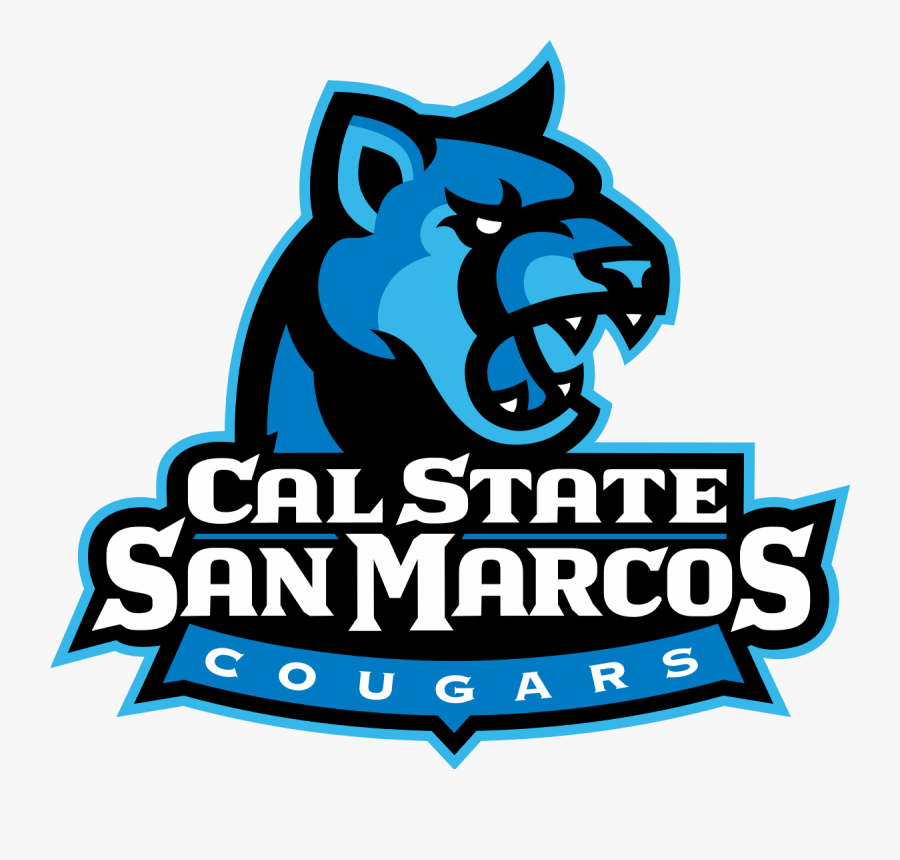 Clip Art Cougar Vector - California State University San Marcos Mascot, Transparent Clipart
