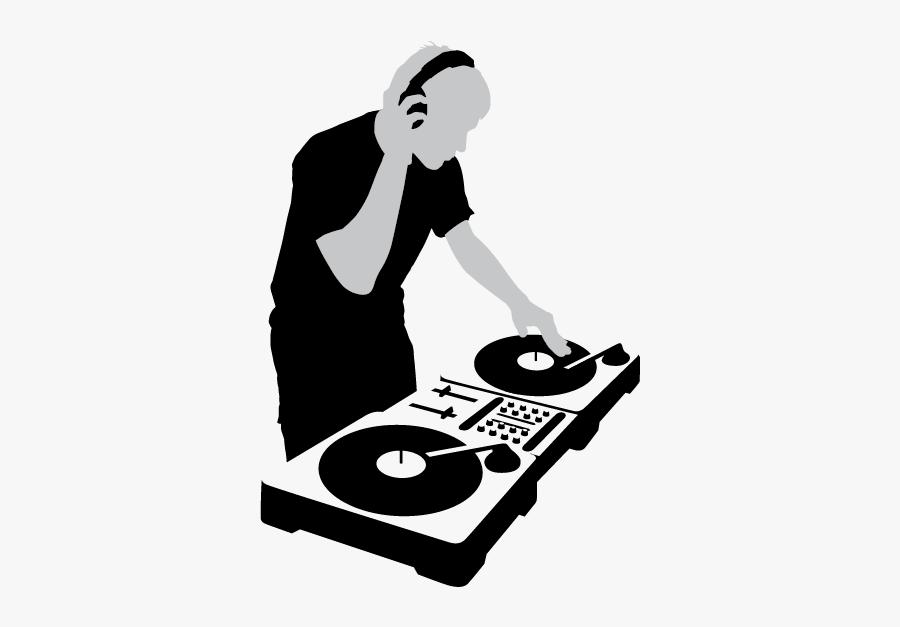 Dj Clipart Disc Jockey - Disc Jockey En Png, Transparent Clipart