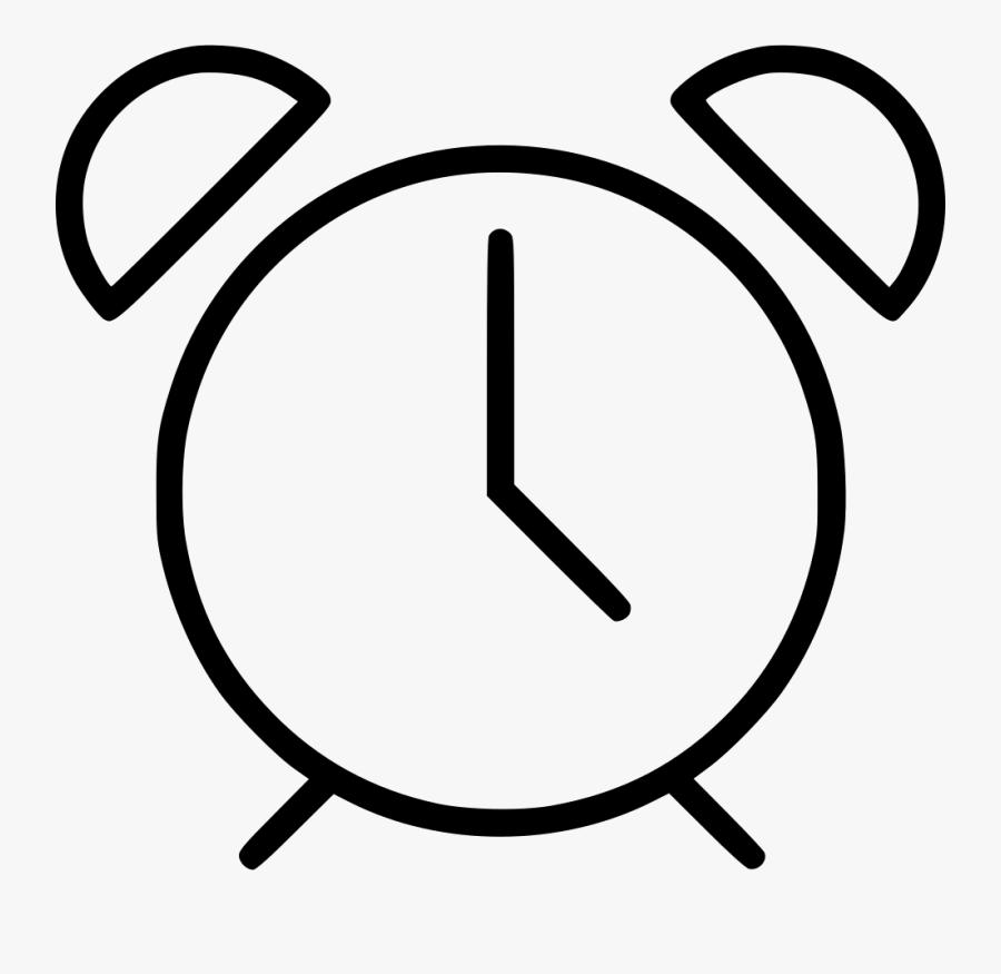 Accurate Alarm Chronometer Clock Competition Countdown - Simbolo De Reloj Png, Transparent Clipart