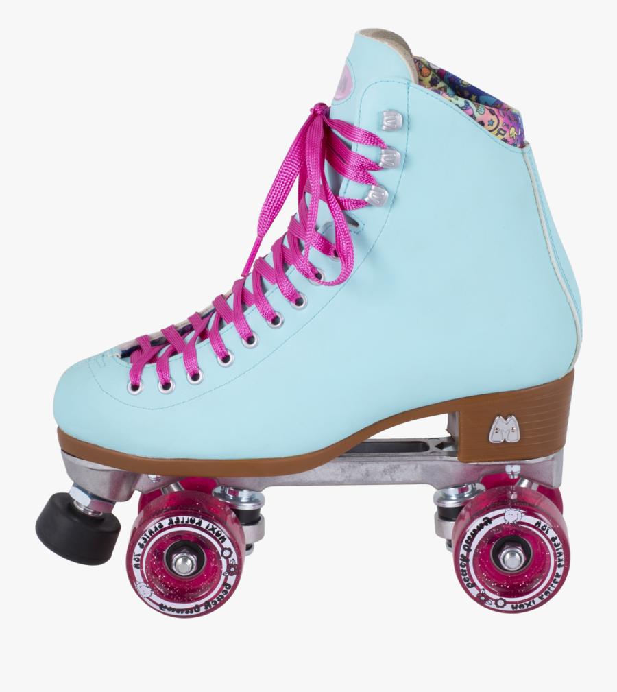 Moxi Beach Bunny Roller Skates, Transparent Clipart