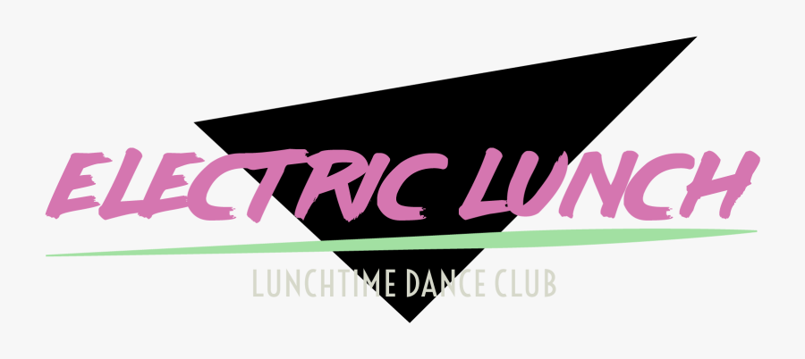 Electric Lunch Lunchtime Dance - Graphic Design, Transparent Clipart