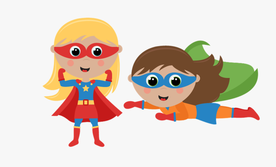 Superheroes Png - - Superhero Boy And Girl Clipart, Transparent Clipart