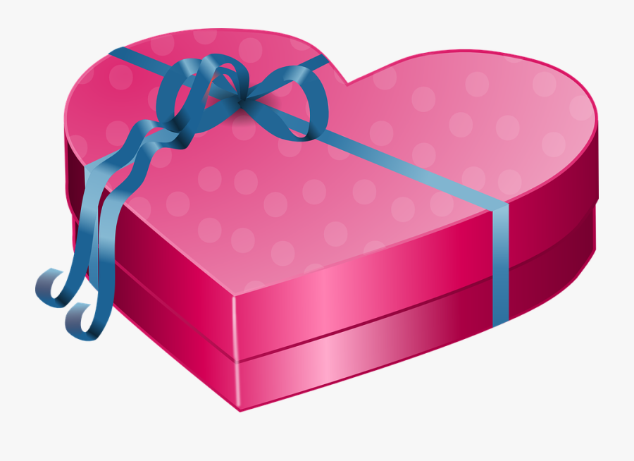 Valentines Day Gift Png, Transparent Clipart