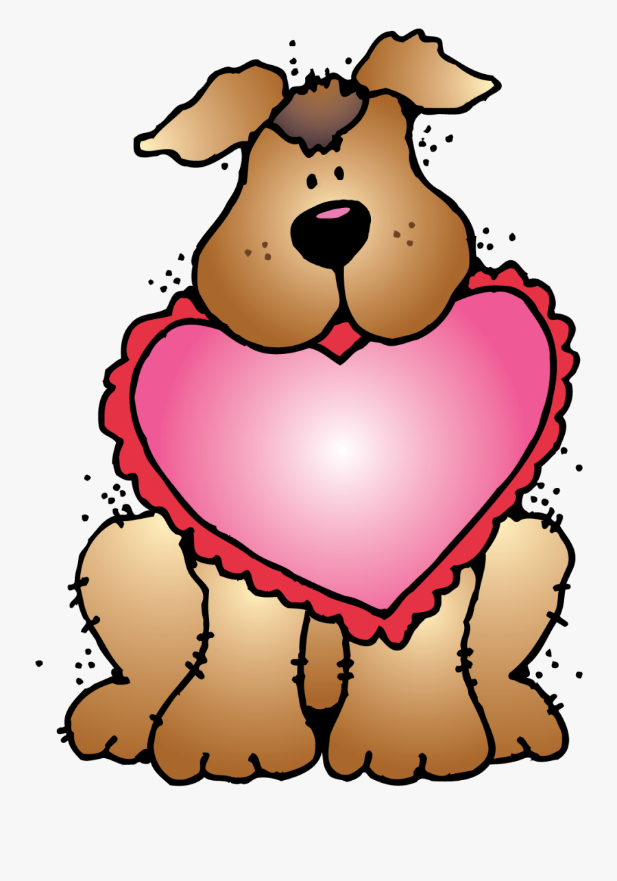 """Valentine""""s Day Clipart Bee - Valentines Day Dog Clipart, Transparent Clipart"""