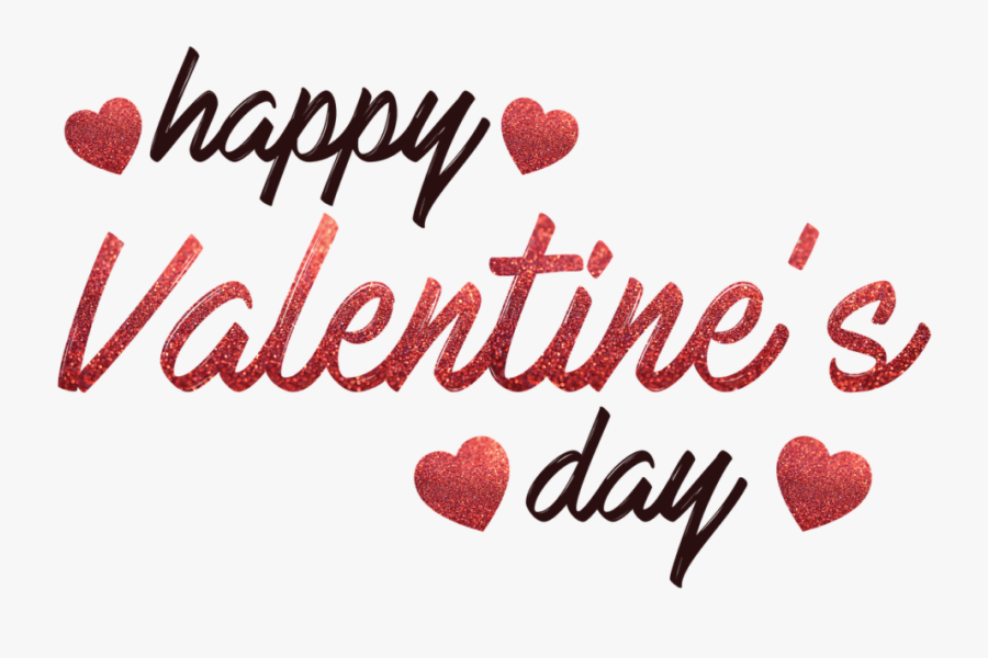 Happy Valentines Day, Transparent Clipart