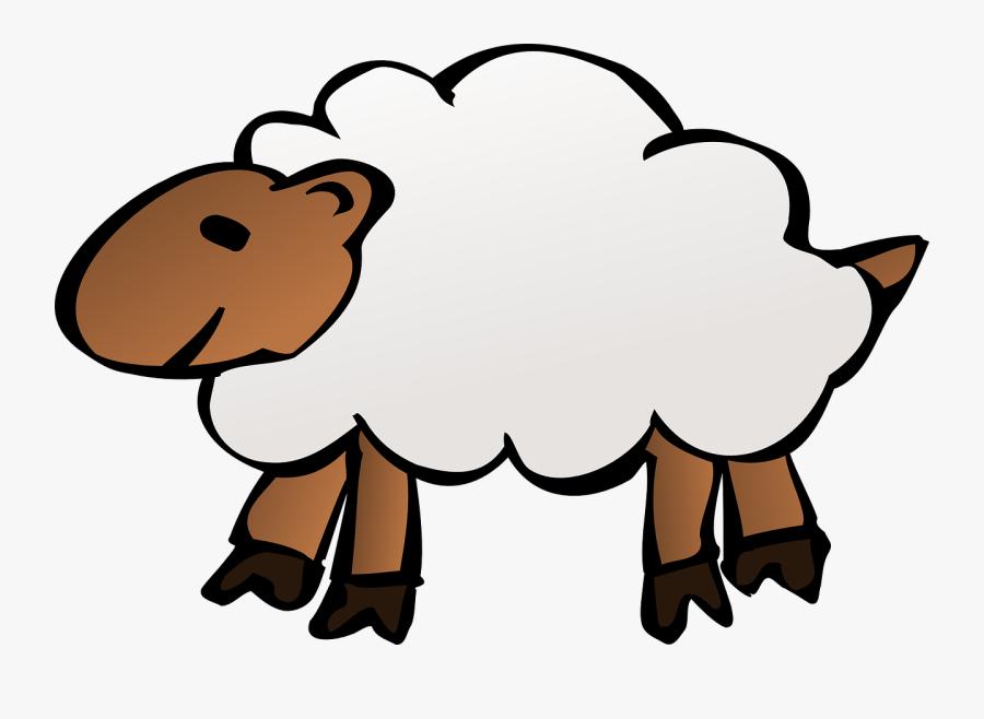 Sheep Clip Art Clipart - Sheep Clipart No Background, Transparent Clipart