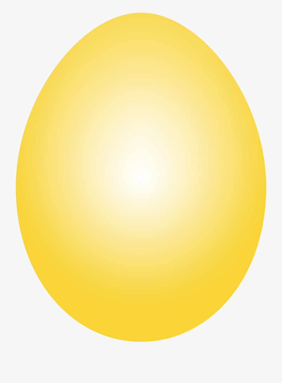 This Free Icons Png Design Of Yellow Easter Egg - Yellow Easter Egg Png, Transparent Clipart