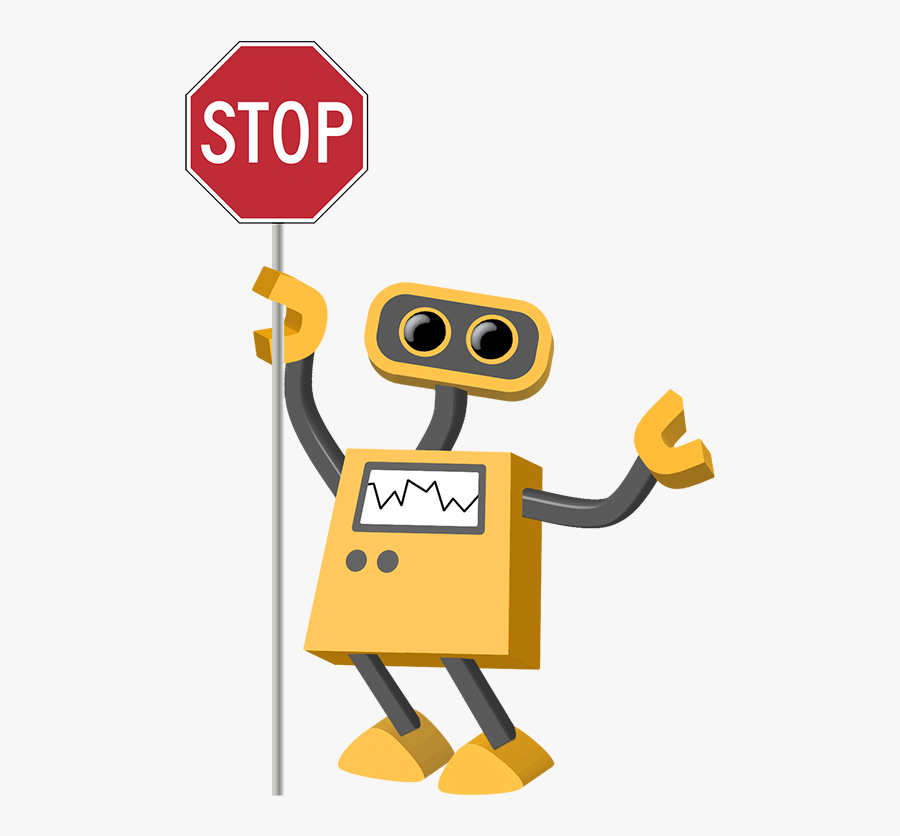 Stop Sign Cartoon No Background, Transparent Clipart