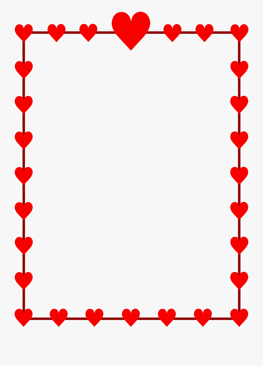 We Have Showed Many Types Os - Valentines Day Border Clip Art, Transparent Clipart