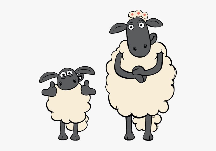 Transparent Family Clipart Png - Timmy Shaun The Sheep Cartoon, Transparent Clipart