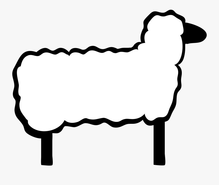 Sheep Clip Art, Transparent Clipart