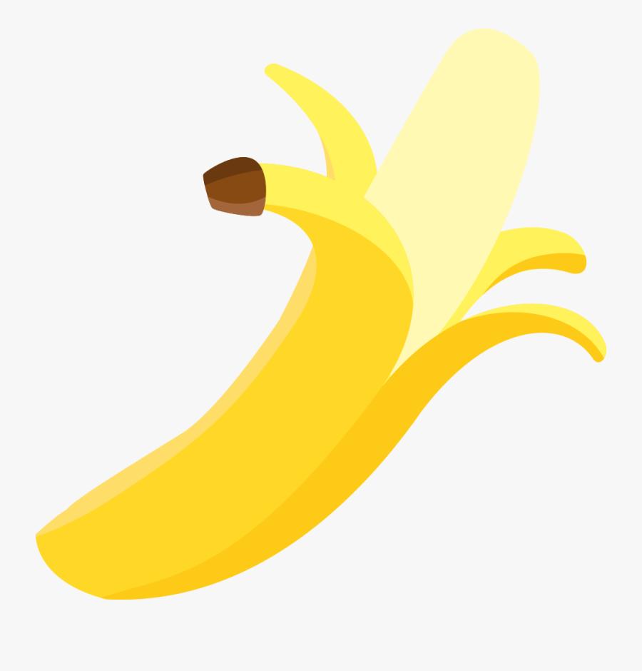 Plant,food,banana Family - Pisang Dikupas Png , Free ... (900 x 940 Pixel)