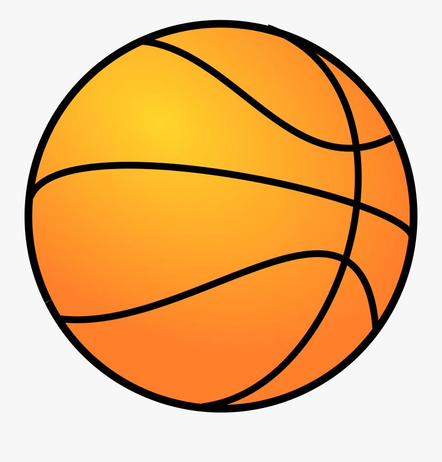 Basketball - Clipart - Transparent Background Basketball Clipart, Transparent Clipart