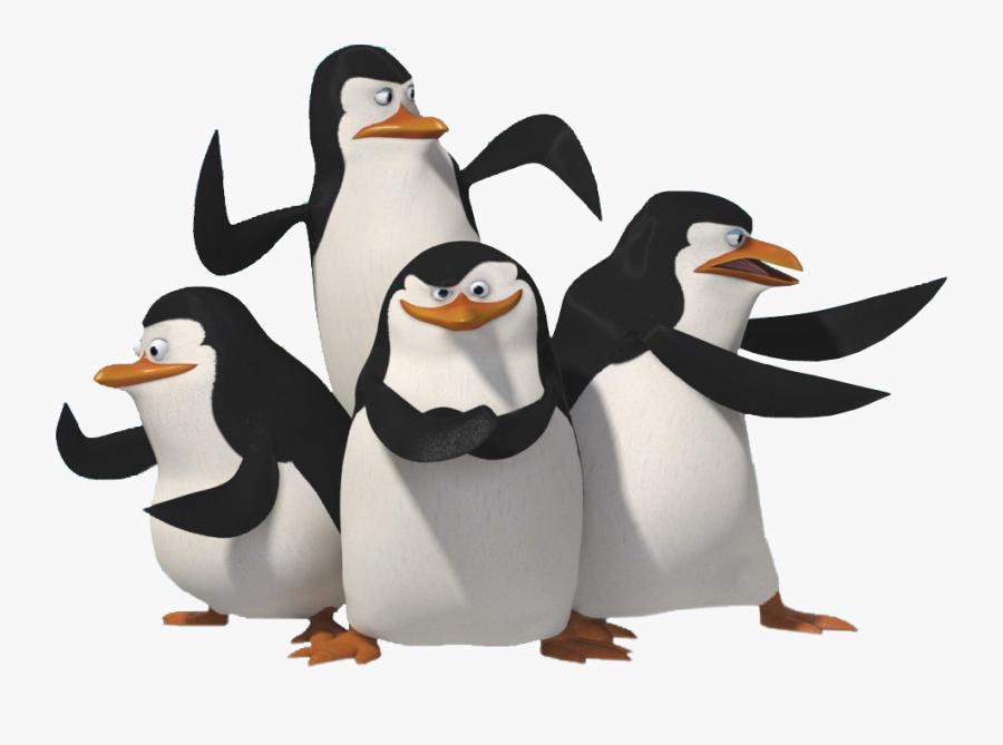 Penguin Clipart Penguine - Penguins Of Madagascar Group, Transparent Clipart