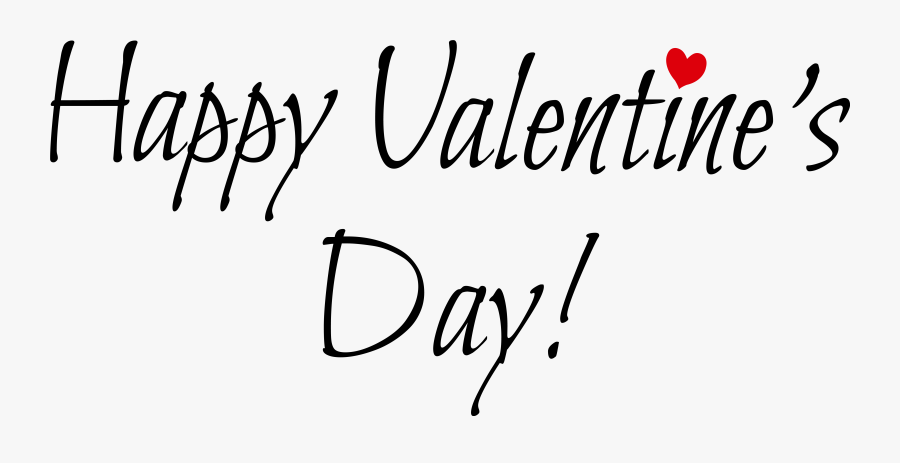 Happy Valentine Day Png, Transparent Clipart